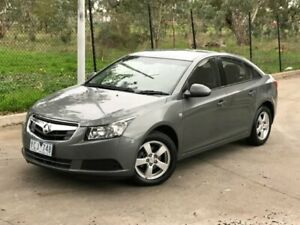 2010 Holden Cruze JG CD White 6 Speed Sports Automatic Sedan Mill Park Whittlesea Area Preview