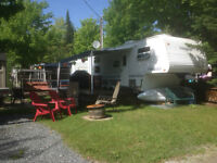 camping Plage mackenzie Lac Brompton