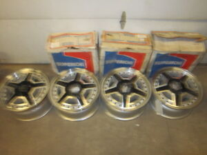 Vintage Dodge Chevrolet Ford NOS Wheels NEW $350.