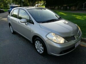 2006 Nissan Tiida C11 ST Silver Metallic 4 Speed Automatic Sedan Chermside Brisbane North East Preview