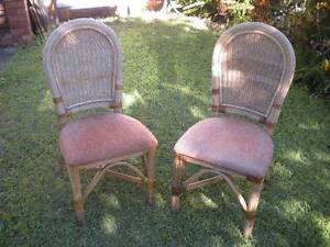 2 x Cane Chairs $16 pair Albion Brisbane North East Preview