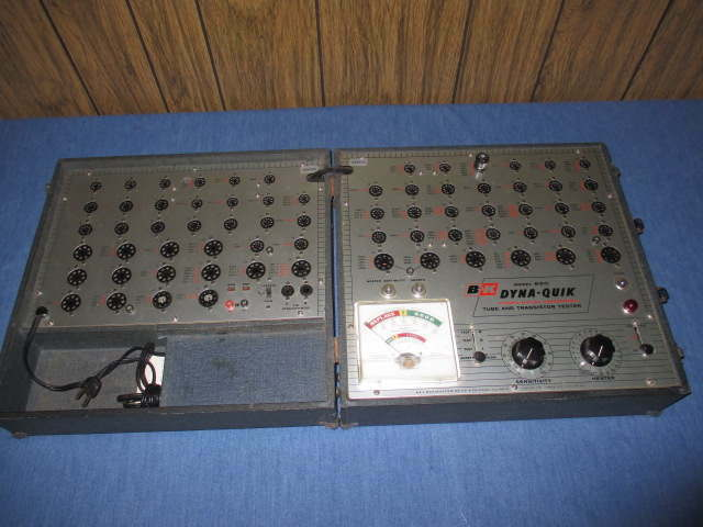 Dyna-Quik Model 650 Dynamic Mutual Conductance Tube Transistor Tester
