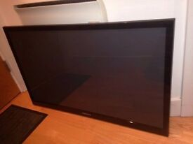 "Samsung 43"" Plasma TV - spares or repairs!"