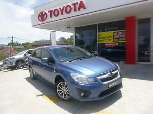 2014 Subaru Impreza MY14 2.0I Luxury Limited Edition Blue Continuous Variable Hatchback Allawah Kogarah Area Preview