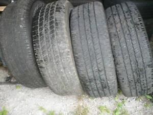 Four 275-60-20 tires  $400.00