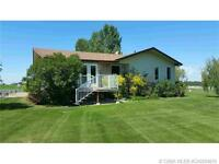 Amazing Acreage only minutes SE of Red Deer, 2557 sqft Bungalow