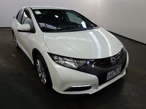 2014 Honda Civic FK MY13 VTi-L White Orchid 5 Speed Automatic Hatchback Albion Brimbank Area Preview