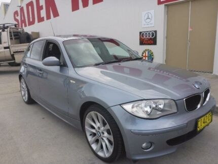 2006 BMW 118i E87 Grey 6 Speed Automatic Hatchback Milperra Bankstown Area Preview