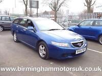 2004 (04 Reg) Honda Accord 2.0 I-VTEC SE 5DR Estate BLUE + LOW MILES