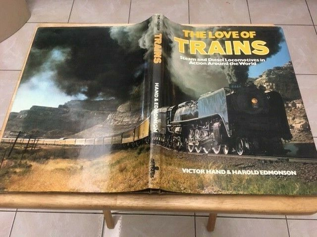 The Love of Trains Book