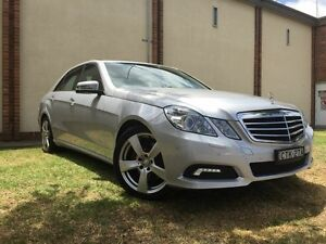 2009 Mercedes-Benz E350 212 Avantgarde Silver 7 Speed Automatic G-Tronic Sedan Campsie Canterbury Area Preview