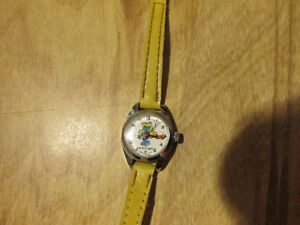 SMURF Smurfs Smurfette Vintage Watch Swiss Movement Peto Toy