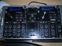 NUMARK icdmix2 CD MIXER COMBI UNIT - USED CONDITION- ONLY £140