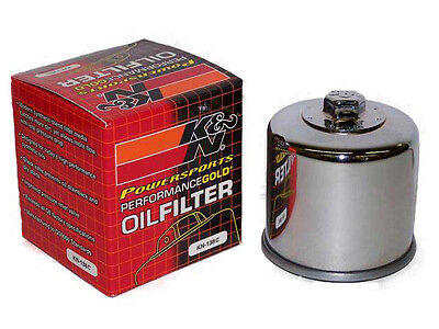 K&N Oil Filter Chrome for Suzuki Boulevard M109R M50 M90 M1800R M1500 M800 for sale  Shipping to Ireland