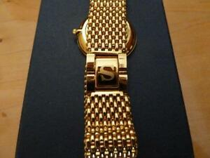Gold plated Seamans swiss watch West Island Greater Montréal image 2