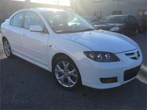 MAZDA 3 GT 2007 ,FULLY LOADED ,LEATHER,AC,EXCELLENT CONDITION,