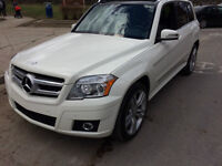 2011 Mercedes-Benz GLK-Class Black Leather SUV, Crossover