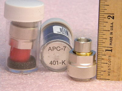 Set Of 2 Gpc-7 Female To Apc-7 Quick Change Adapters 18ghz Gilbert 401-k