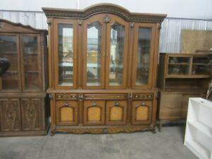 Ornate china cabinet - 6787R