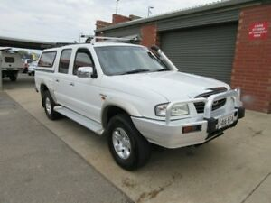 2002 Mazda B2500 Bravo SDX (4x4) White 5 Speed Manual 4x4 Dual Cab Pick-up Gilles Plains Port Adelaide Area Preview
