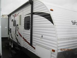 $106 Bi Weekly Sportsmen 31' Trailer, 2 Slides, Rear Bunk Room!