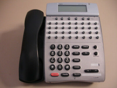5 Refurbished Black Nec Dtr 32d-1 Phones 780055