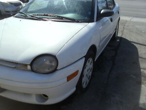 1998 Plymouth Neon Sedan $650.00 o.b.o. >>>>
