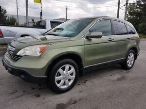 2008 Honda CR-V EX-L, AWD, NAVIGATION, BACKUP CAMERA, SUNROOF ON