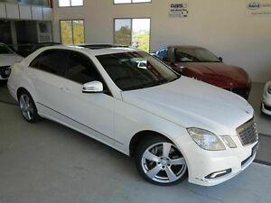 2009 Mercedes-Benz E350 W212 Avantgarde 7G-Tronic White 7 Speed Sports Automatic Sedan Albion Brisbane North East Preview