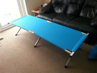 FOLDING CAMP BED (TWO AVAILABLE) BOUGHT FROM GO OUTDOORS