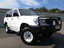 1999 Toyota Landcruiser HZJ105R Standard White 5 Speed Manual Wagon Silverwater Auburn Area Preview