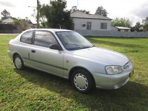 2001 HYUNDAI ACCENT MANUAL, LOW KMS 89100 Maitland Maitland Area Preview