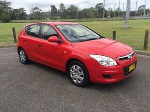 2008 Hyundai i30 FD MY09 SX Red 5 Speed Manual Hatchback West Gosford Gosford Area Preview