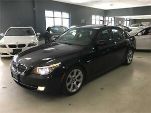 2008 BMW 5 Series 535i**6SPEED MANUAL**SPORT PKG**BLACK ON BLACK