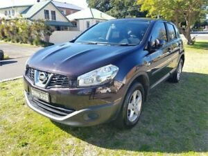 2012 Nissan Dualis J10 Series II ST (4x2) Black 6 Speed CVT Auto Sequential Wagon Broadmeadow Newcastle Area Preview