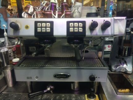BRASILIA COMMERCIAL ESPRESSO MACHINE AND ROSSI GRINDER Glendale Lake Macquarie Area Preview