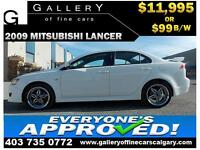 2009 Mitsubishi Lancer SE $99 BI-WEEKLY APPLY NOW DRIVE NOW