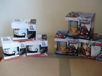 Marvel Mugs x 3 and Secret Life of Pet Mugs x 3 - brand new in box