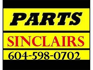 ***PARTS PARTS PARTS FOR ALL OFF SHORE MACHINES SINCLAIR'S***