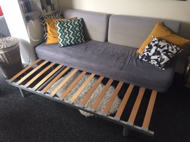 Superb Muji Sofa Bed Sleeper Couch Futon In Hornsey London Gumtree Bralicious Painted Fabric Chair Ideas Braliciousco