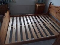 Great Value Pine double Bed For Sale!
