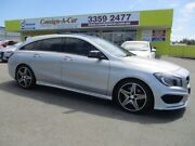 2015 Mercedes-Benz CLA250 X117 Sport Shooting Brake DCT 4MATIC Silver 7 Speed Kedron Brisbane North East Preview