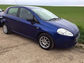 BEAUTIFUL CONDITION FIAT GRANDE PUNTO !! ONLY 77000 MILES !!