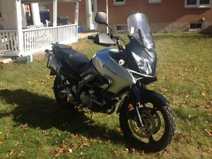 2008 Suzuki DL 1000 with Travel Gear