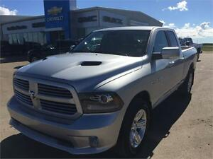 """2016 Ram 1500 4WD Quad Cab Sport """" Only 500 Kms"""""""