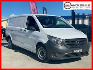 2016 Mercedes-Benz Vito 447 114BlueTEC Van LWB 5dr Man 6sp 1130kg 2.1DT White Manual Van Minchinbury Blacktown Area Preview