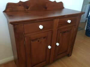 pine cupboard or dresser