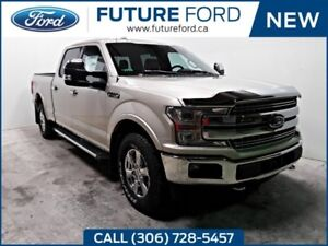 2018 Ford F-150 Lariat | MAX TRAILER TOW | BLIND SPOT INFO | FX4