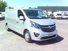 Vauxhall Vivaro L2 H1 2900 1.6 115PS SPORTIVE EURO 5 DIESEL MANUAL GREY (2015)