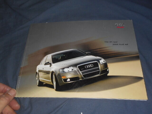 2005 Audi A6 USA Market Color Brochure Catalog Prospekt